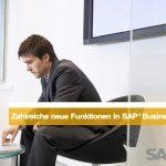 Zahlreiche neue Funktionen in SAP®  Business One 9.0