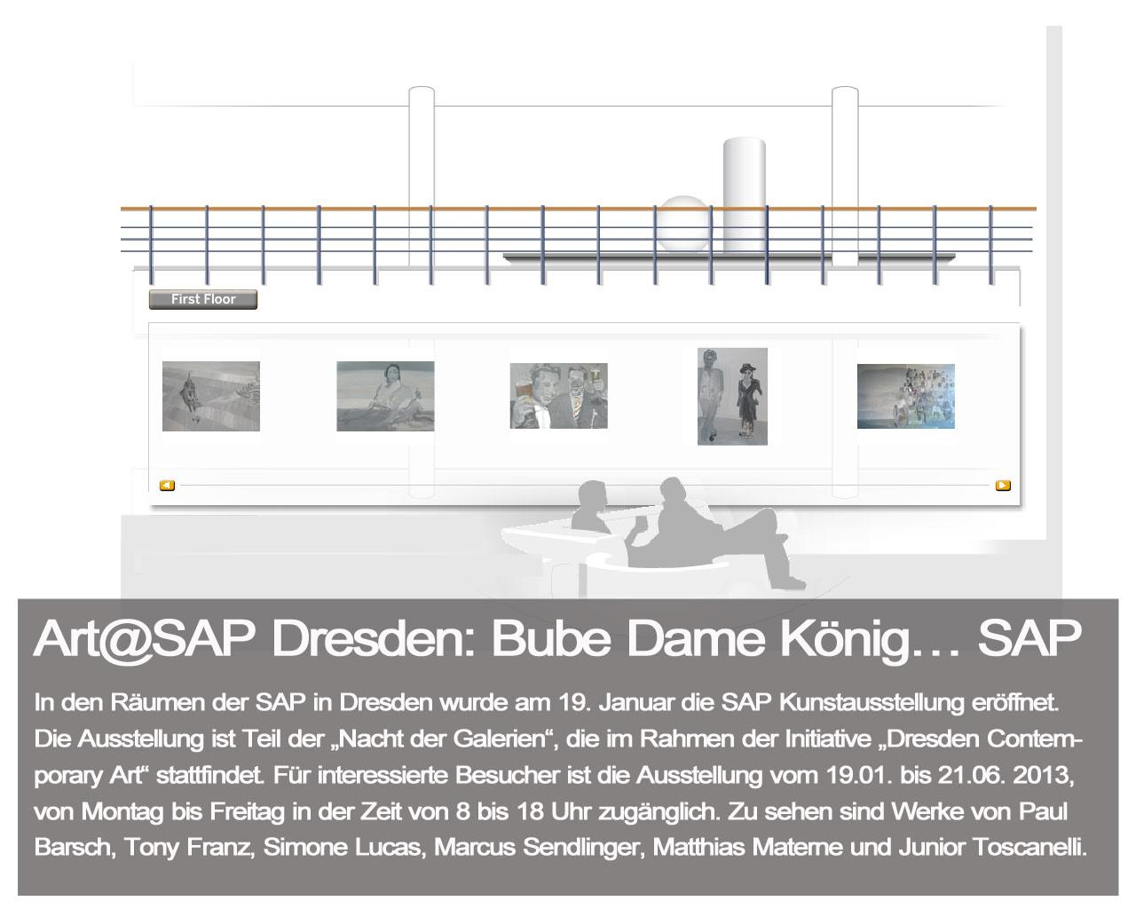 Art and SAP-Dresden-Bube-Dame-König SAP