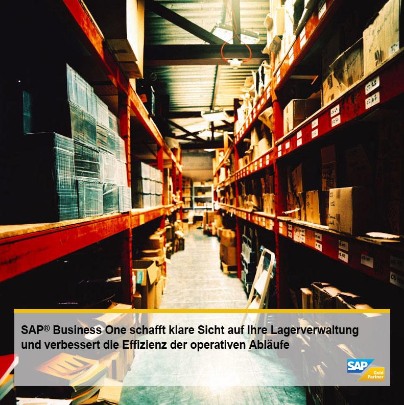 Bestandsführung und Fertigung stärken durch eine Lagerverwaltung mit SAP Business One