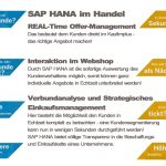 SAP Business One HANA im HANDEL