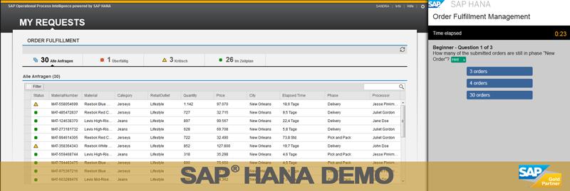 Testdatenbank SAP HANA