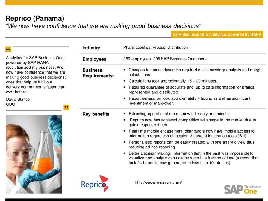 SAP HANA für SAP Business One im Einsatz bei KMU