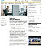 Neuigkeiten vom Referenzkunden Blog der SAP