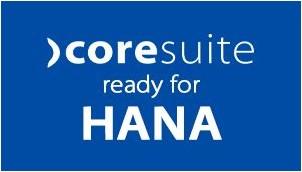 coresuite verfügt jetzt über eine Testversion von SAP HANA. customize auf HANA.