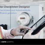 Schnelles Arbeiten dank Checklisten Designer