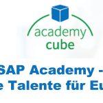 SAP Academy – Junge Talente für Europa