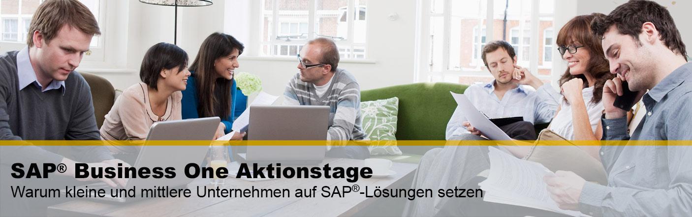 Beim SAP Partner vor Ort die Softwarelösung für KMU´s kennenlernen.