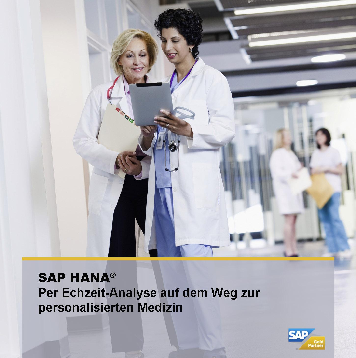 SAP HANA bietet durch Echzeit-Analyse den Weg zur personalisierten Medizin