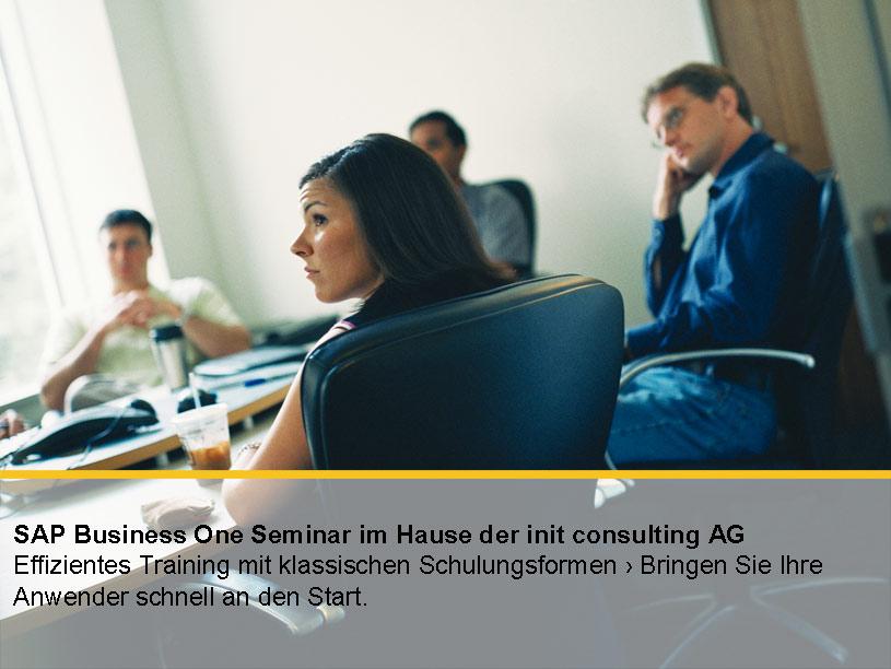 SAP Business One Schulungen für Expertenwissen