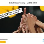 CeBIT 2014 – SAP vergibt Freitickets