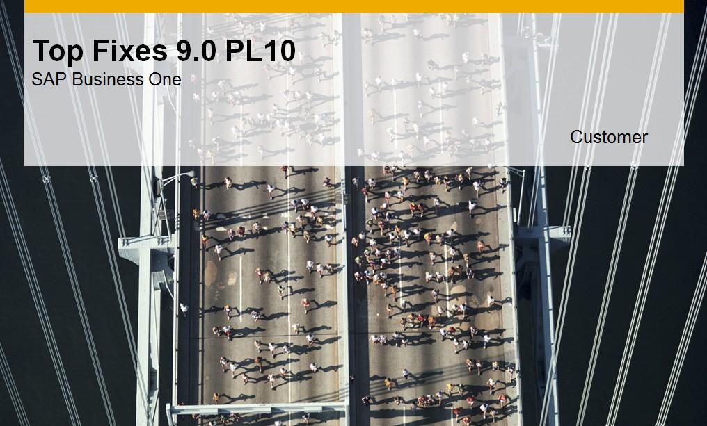Änderungen 9.0 PL 10