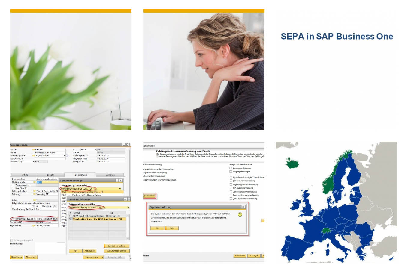 SEPA Neuerungen