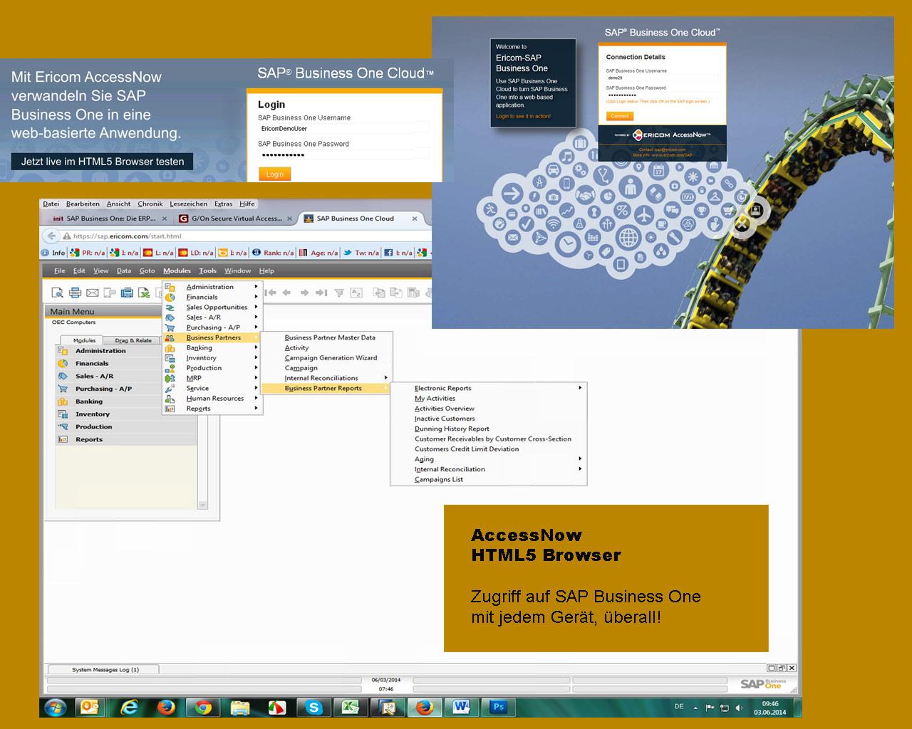 HTML5 Browser nutzen und von überall geräteunabhängig