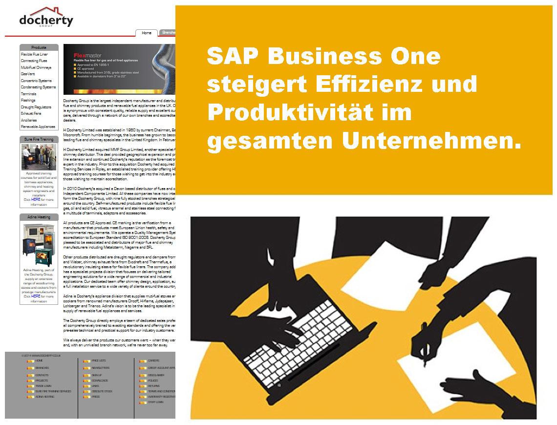SAP Business One steigert Effizienz und Produktivität