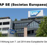 SAP SE – eines der Top 3 der internationalsten Unternehmen im DAX