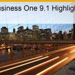 SAP Business One 9.1 – einfacher und mit mehr Benutzerfreundlichkeit