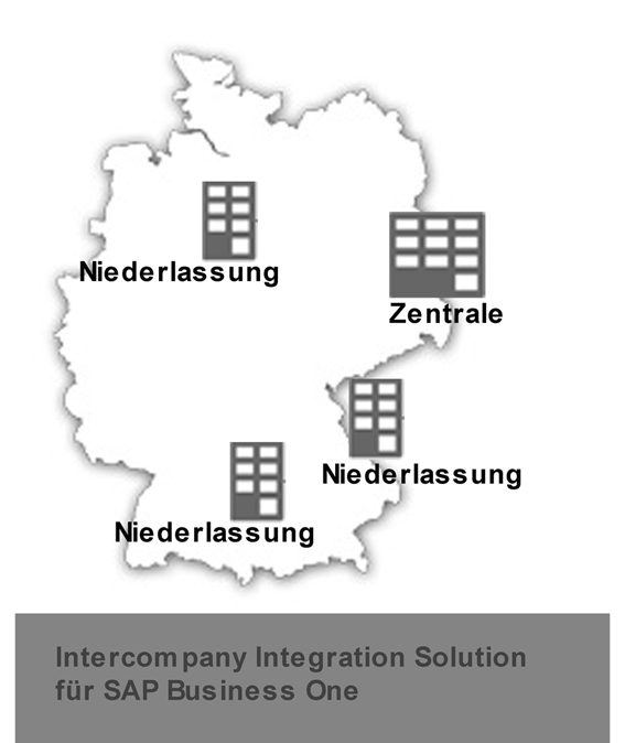 SAP Business One in Verbindung mit Intercompany