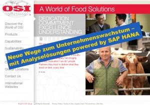 SAP Business One Analytics powered by SAP HANA erfolgreich im Einsatz bei OSI