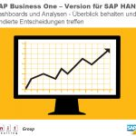 SAP Business One – Überblick behalten und fundiert entscheiden
