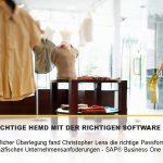 Maßgeschneiderte Lösungen für die Modebranche