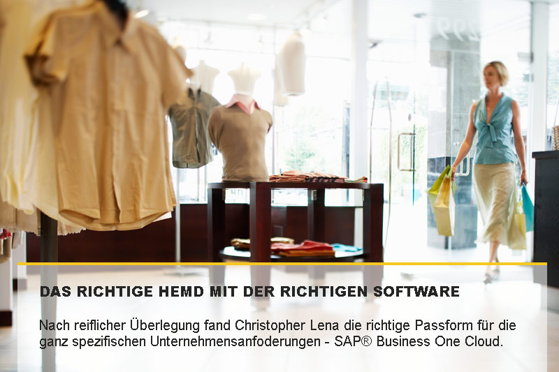 SAP® Business One Cloud bietet die perfekte Passform