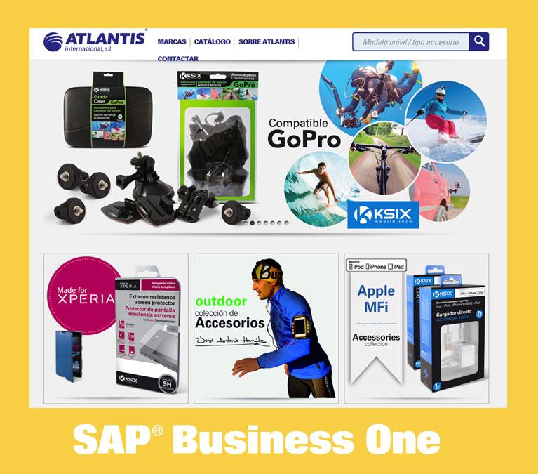SAP Business One im Einsatz bei Atlantis in Spanien.