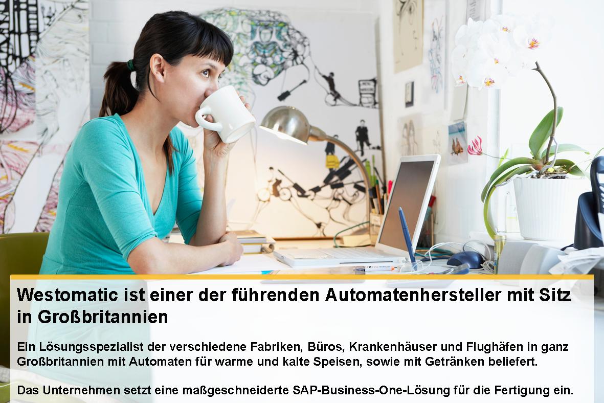 SAP B1 Erfolg beim Automatenhersteller Westomatic