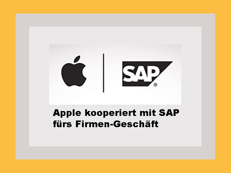 Apple-SAP-Partnerschaft