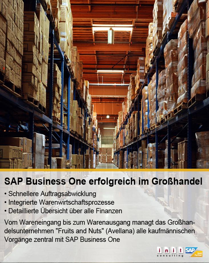Unternehmen verwaltet mit SAP Business One zahllose Produktvarianten.