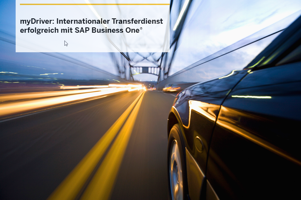 International, effizient und schnell mit SAP Business One