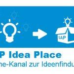 SAP Online-Kanal zur Ideensammlung