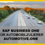 SAP Business One Lösung für Automobilzulieferer
