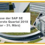 SAP SE veröffentlicht Geschäftszahlen
