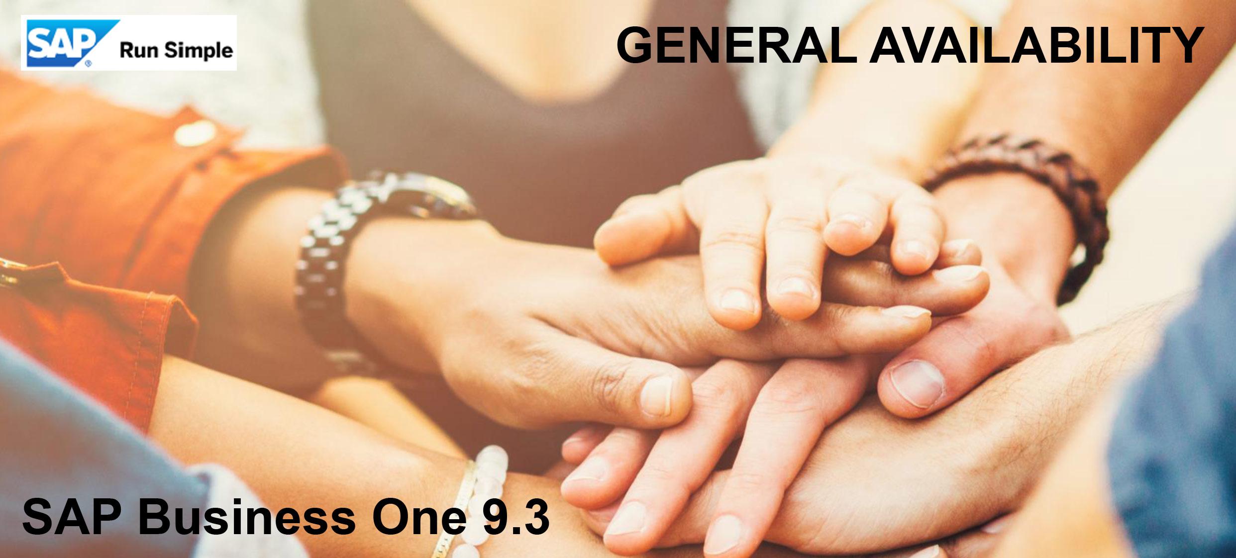 Release 9.3 jetzt verfügbar
