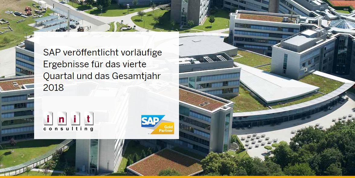 SAP Quartalsmitteilung Q4 2018
