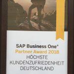 Preis für die Höchste Kundenzufriedenheit Deutschland 2018