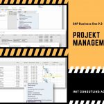 Projektmanagement in SAP Business One