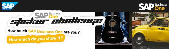 SAP B1 Sticker Challenge