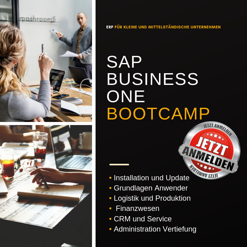 SAP Business One Bootcamp init consulting AG