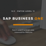 SAP Business One 9.3 PL11