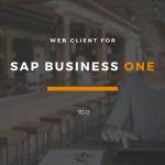 Web Client für SAP Business One