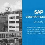 Ergebnisse der SAP SE für 2019