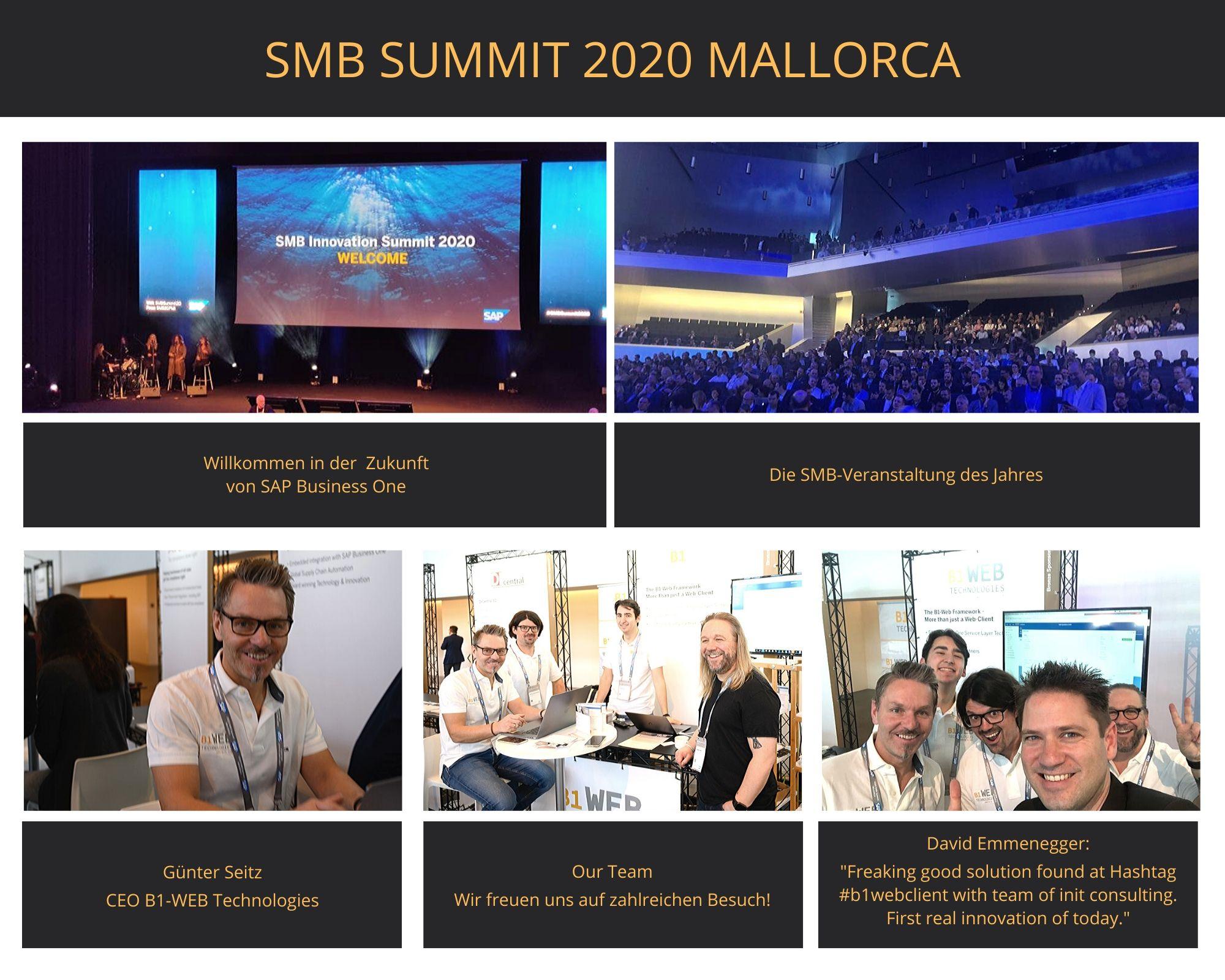 Impressionen SAP Business One SMB Summit 2020 Mallorca