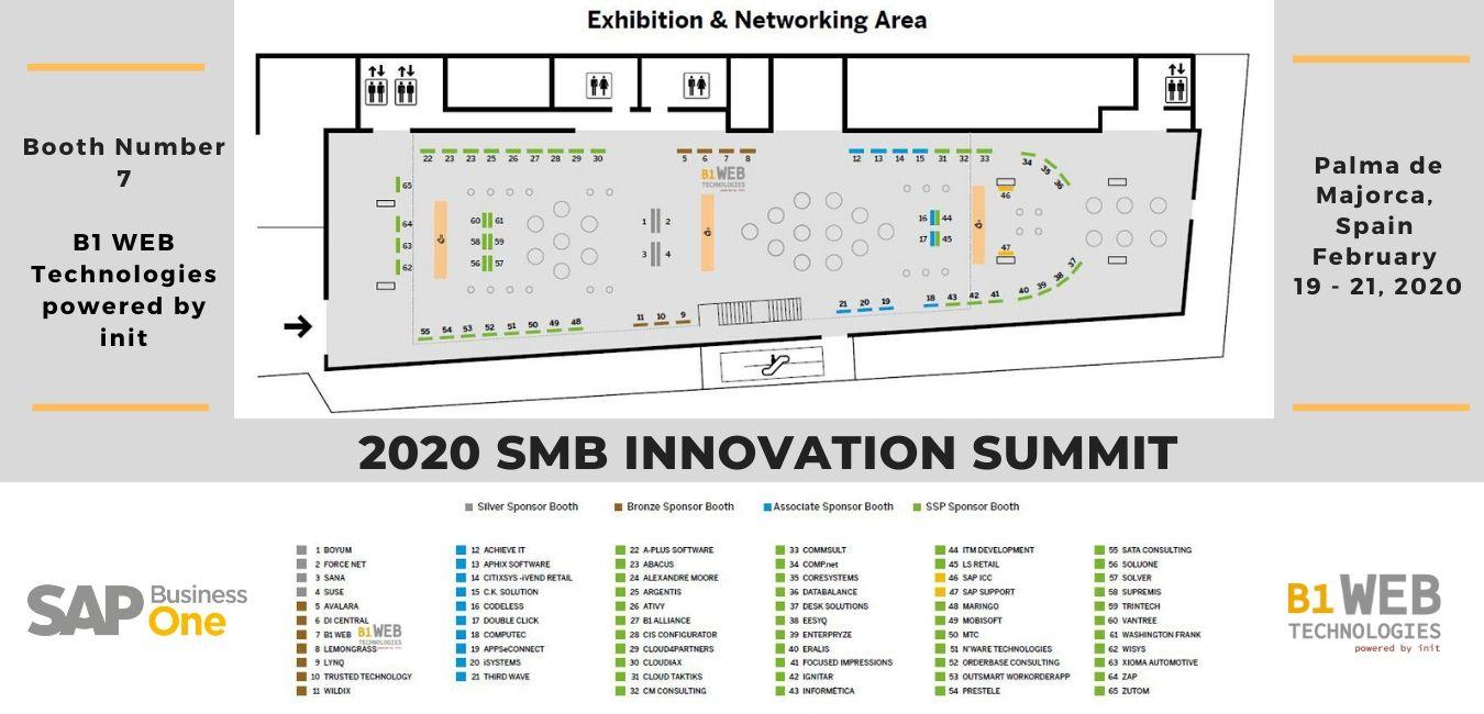 Floorplan SMB Summit 2020