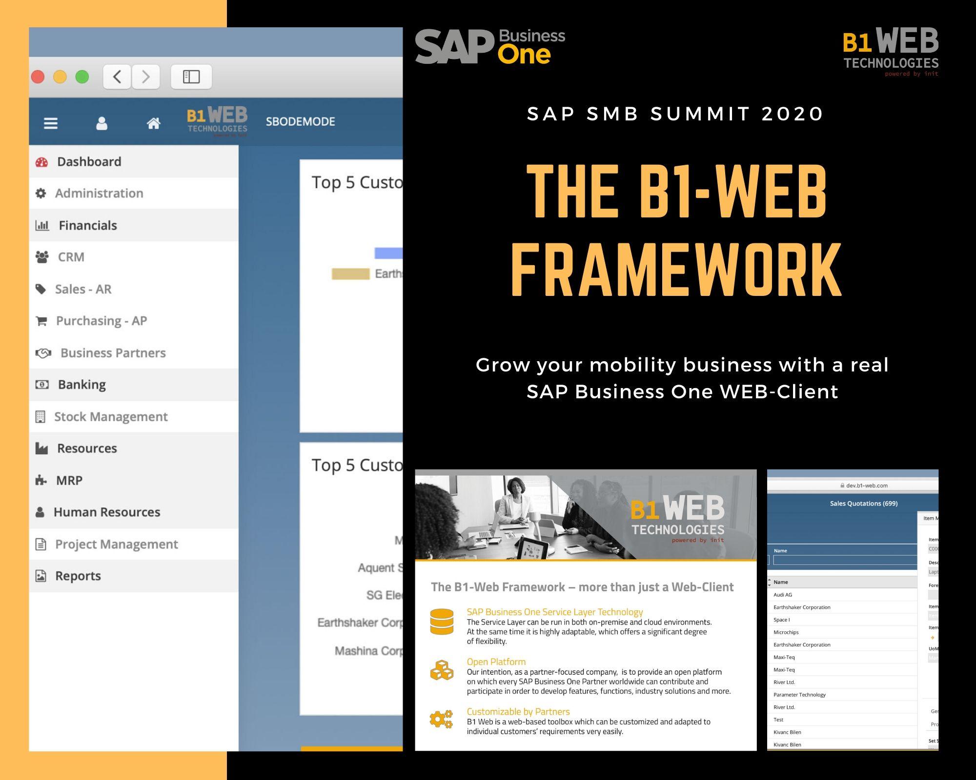 SAP Business One WEB-Client