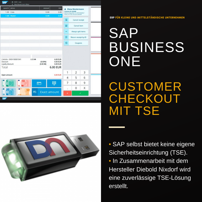 SAP Business One Customer Checkout